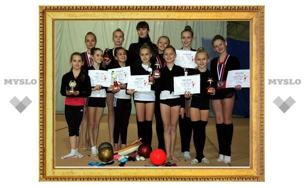 Тульские гимнастки обошли более 500 соперниц