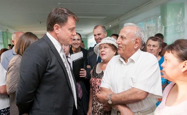 Жители Арсеньево – Владимиру Груздеву: Почему летом подорожало отопление?