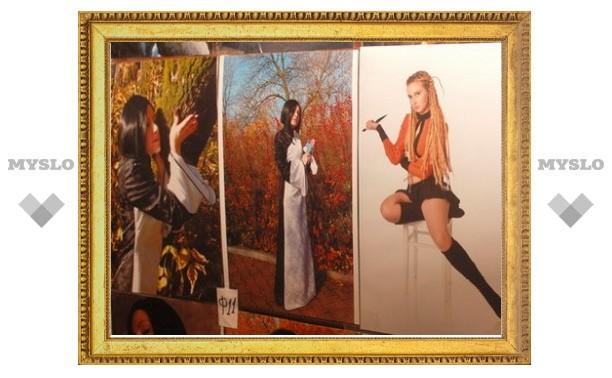 В Туле прошла выставка аниме-творчества