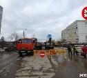 Ремонт водопровода на улице Хворостухина в Туле завершён