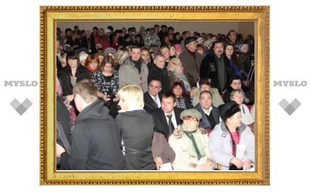 У Груздева жители Донского требовали отставки властей
