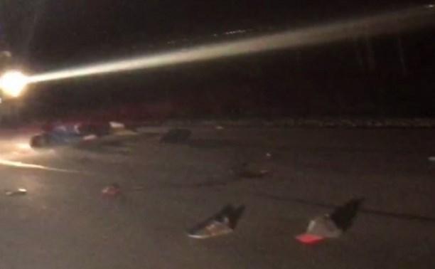 Сбитый в Заокском районе велосипедист попал под колёса четырёх автомобилей