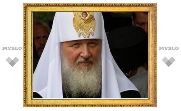 Патриарх Кирилл: надо не только строить храмы, но и жить по Божьим законам