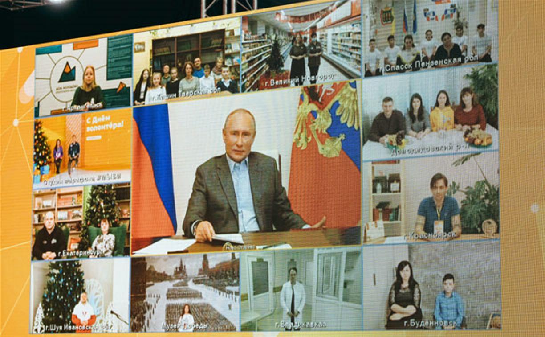 Владимир Путин исполнит желание участника Всероссийской акции «Елка желаний» Саши Колясникова из Тулы