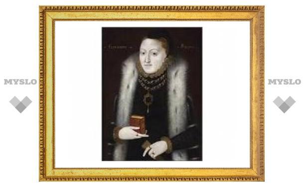 Неизвестный портрет Елизаветы I найден на чердаке