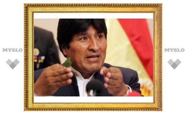 Эво Моралес одарит домами всех боливийских молодоженов