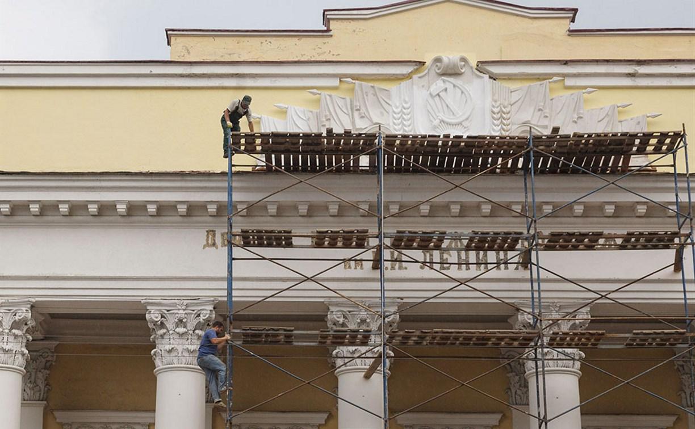 На здании ДКЖ в Туле восстановили горельеф