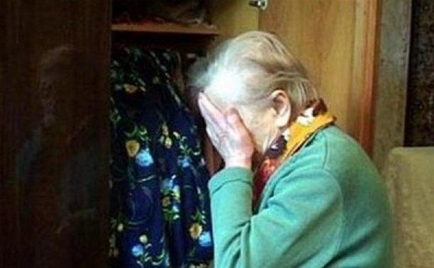 Грабитель напал на 86-летнюю пенсионерку