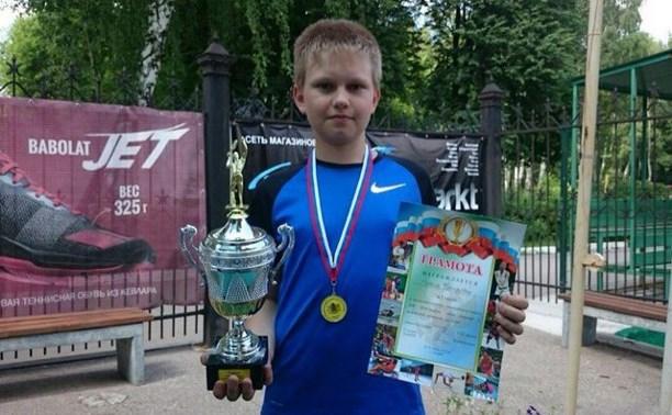 Тульский теннисист Тимур Тураносов выиграл Мемориал Озерова