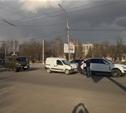 Напротив Могилевского сквера столкнулись три авто