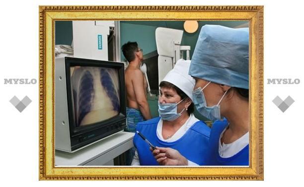 Поселки Тульской области посетит рентген-машина
