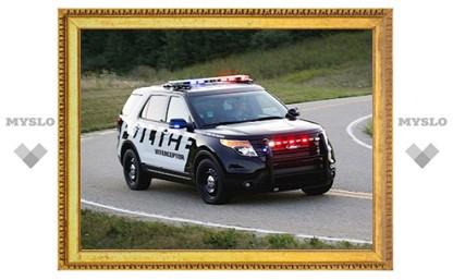 Компания Ford представила полицейскую версию нового Explorer