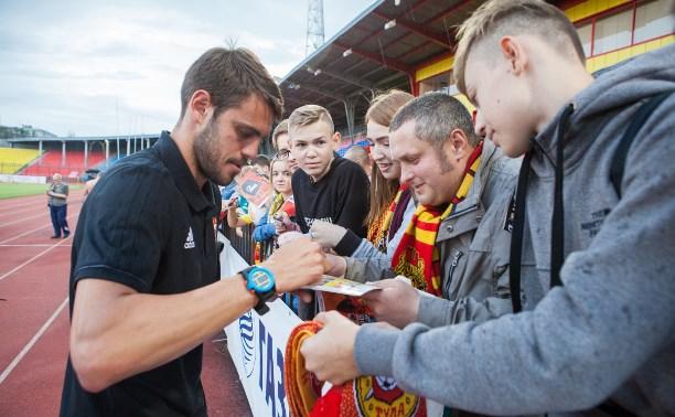 Встреча «Арсенала» с болельщиками: о еврокубках, трансферах и речевках