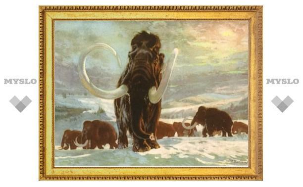 Вымирание мамонтов оказалось случайным