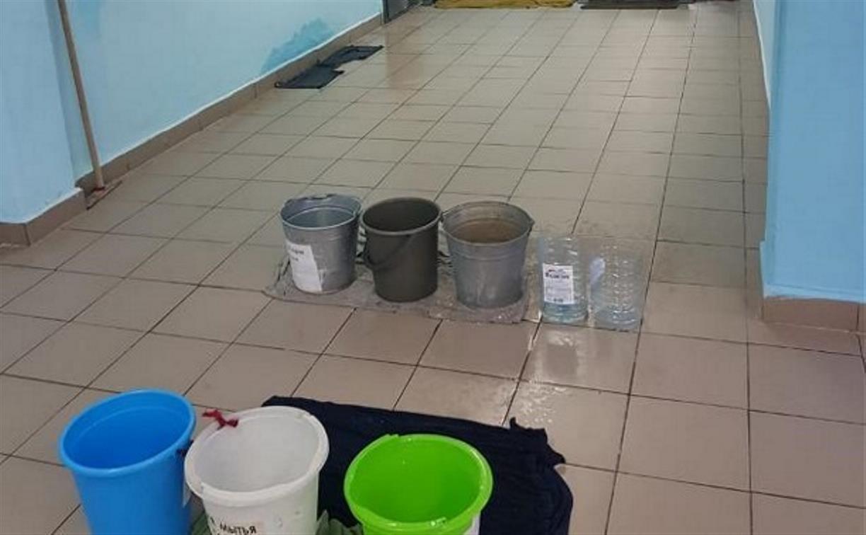 Потоп в тульской школе №10: администрация города потребует компенсацию с подрядчика