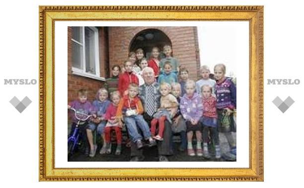 У настоятеля церкви баптистов из Кузбасса родилась сотая внучка