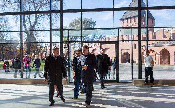 Выставочный комплекс в кремле откроется новогодней ёлкой