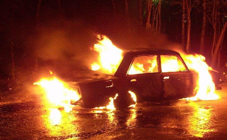 В Ясногорске задержаны серийные автоворы: одну машину они успели сжечь