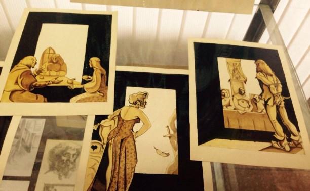 Открылась выставка тульского художника, пропавшего в Кармадоне с Сергеем Бодровым