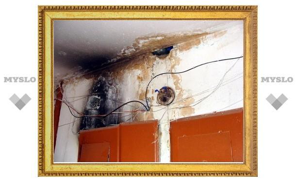 Жилой дом в Туле может вспыхнуть в любой момент