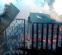 В тульской деревне под утро дотла сгорел жилой дом