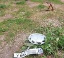 В Туле виновник ночного ДТП скрылся с места аварии, но потерял номер своего автомобиля