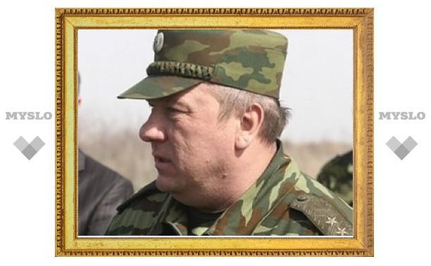 Под Тулой в ДТП пострадал командующий ВДВ РФ генерал-лейтенант Владимир Шаманов