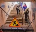 В Туле ремонтируют подземный переход на улице Каминского