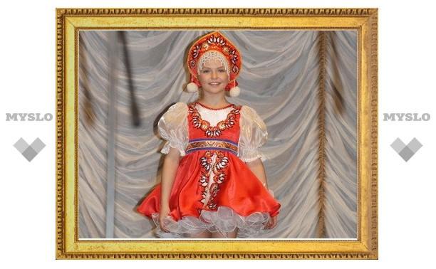 Тулячка Настя Сивова стала «Маленькой красавицей России»