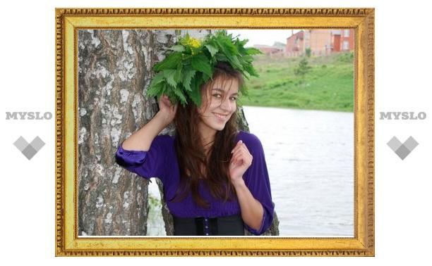 На фестивале Крапивы выбрали «королеву»