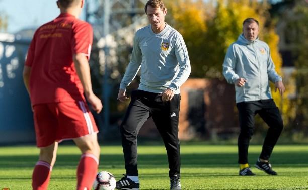 Руководители тульского «Арсенала» сыграли в футбол с фанатами: фоторепортаж