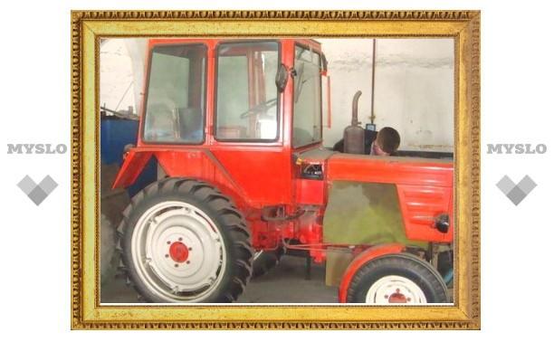 Под Тулой воры оставили тракторы без аккумуляторов