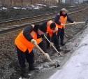 В Тульском регионе Московской железной дороги готовятся к паводку