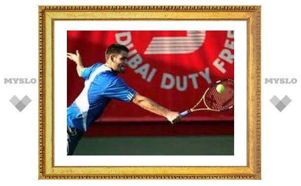 Южный вышел в четвертьфинал теннисного турнира Dubai Open