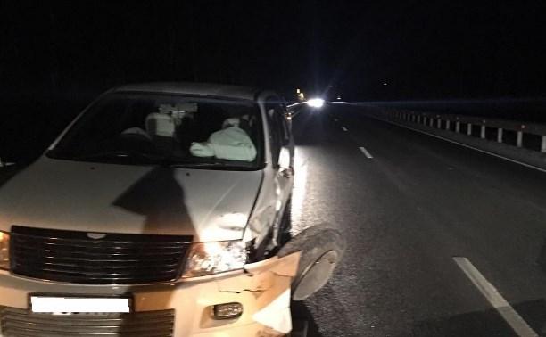 В авариях в Тульской области за выходные пострадали несколько человек