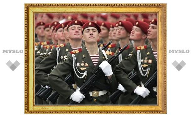 В параде Победы в Туле примут участие 700 военнослужащих