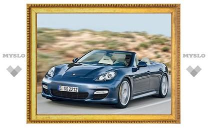 Появились первые изображения кабриолета Porsche Panamera