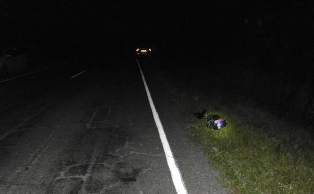 Под Богородицком насмерть разбился мотоциклист