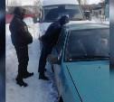 В Новомосковске двое закладчиков на «девятке» распространяли наркотики