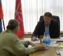 Евгений Авилов провел личный прием граждан