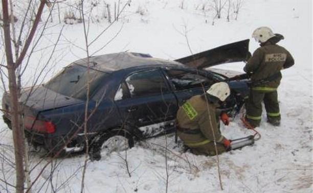 В аварии в Донском пострадал человек