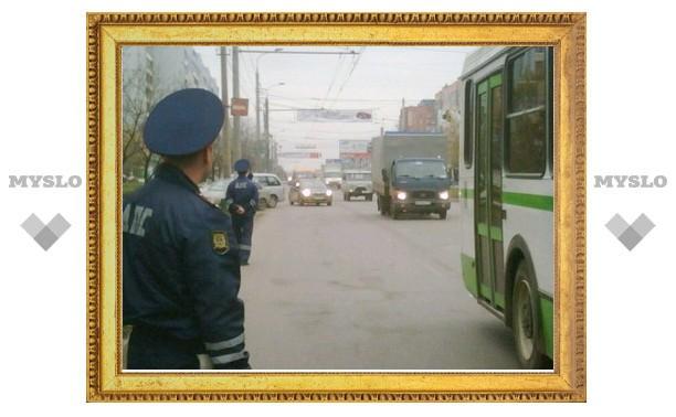 В пятницу тульские гаишники провели акцию «Самый главный пассажир»