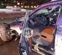 На ул. Вильямса в Туле у Volkswagen Touareg оторвало колесо