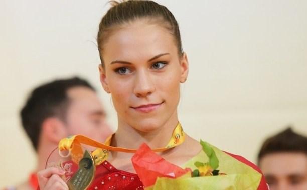Тульская гимнастка Ксения Афанасьева взяла бронзу на Чемпионате Европы