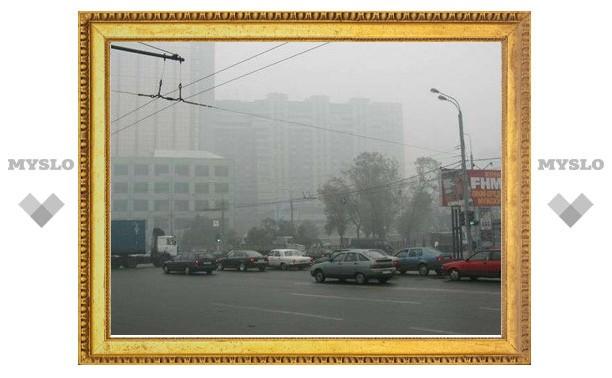 Во время смога московские дворы будут поливать