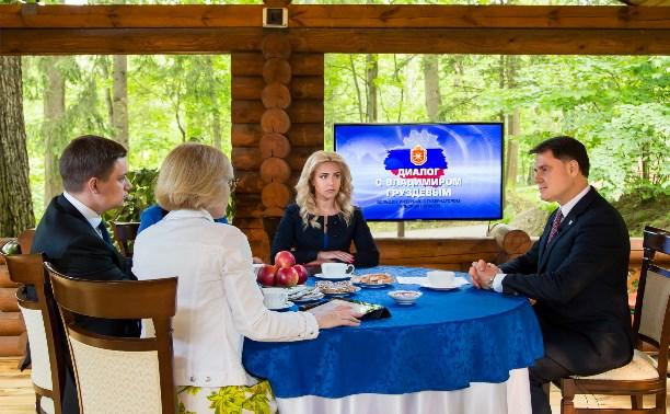 Владимир Груздев дал большое интервью тульским СМИ