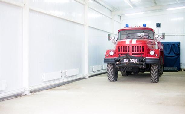 В Тульской области открылась новая пожарная часть