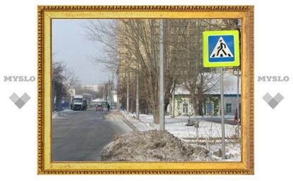 На ул. Октябрьской сбили пешехода