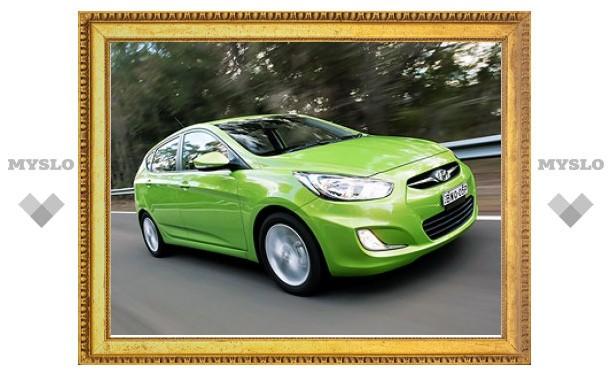 В России продали 100-тысячный Hyundai Solaris