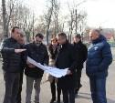 В новомосковском Городском парке начали восстанавливать «спортивное ядро»